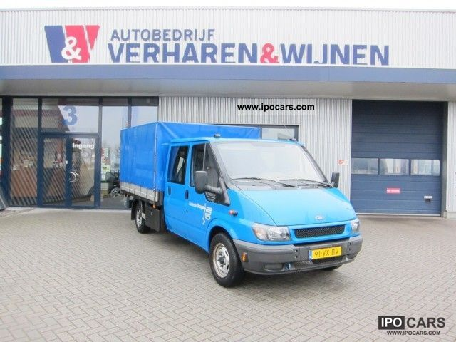 2001 Ford  Transit 2.4 330L pickup dubbele cabine Off-road Vehicle/Pickup Truck Used vehicle photo