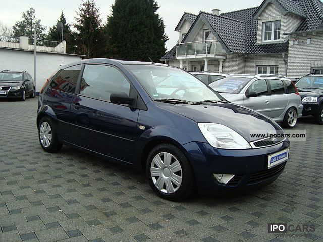 2004 Ford  Fiesta 1.4 * AIR CONDITIONING * AHK * Small Car Used vehicle photo