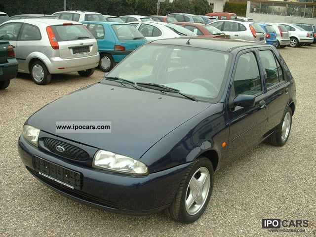 1998 ford fiesta style air alu servo car photo and specs. Black Bedroom Furniture Sets. Home Design Ideas