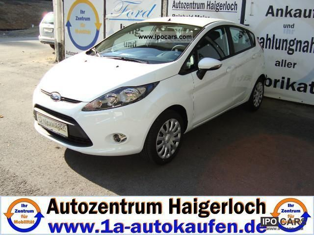 2011 Ford  Fiesta 1.25 m i/82PS trend. Climate / CD ** NEW CAR ** Small Car New vehicle photo