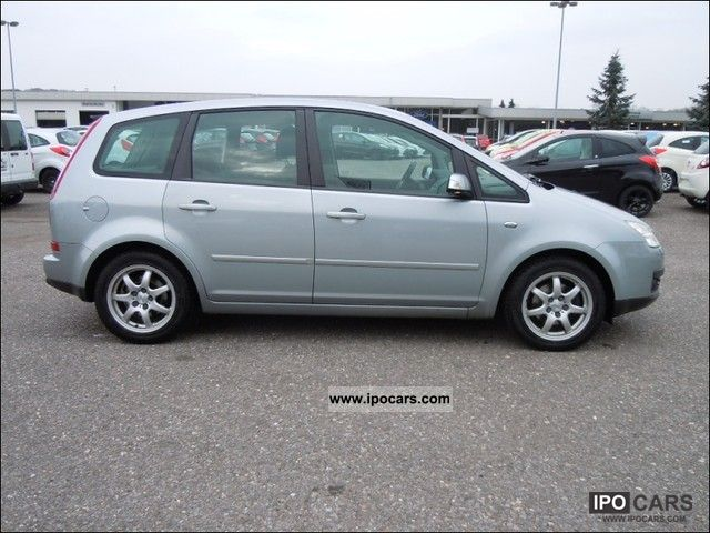 2005 ford focus c max 1 6 tdci ghia car photo and specs. Black Bedroom Furniture Sets. Home Design Ideas