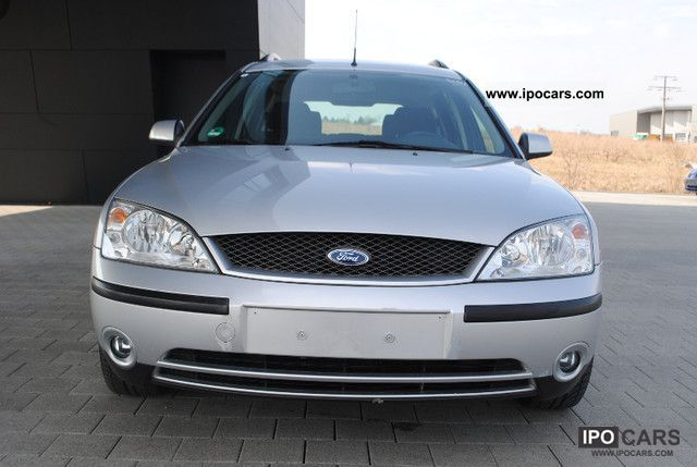 2002 ford mondeo 2 0 turnier car photo and specs. Black Bedroom Furniture Sets. Home Design Ideas