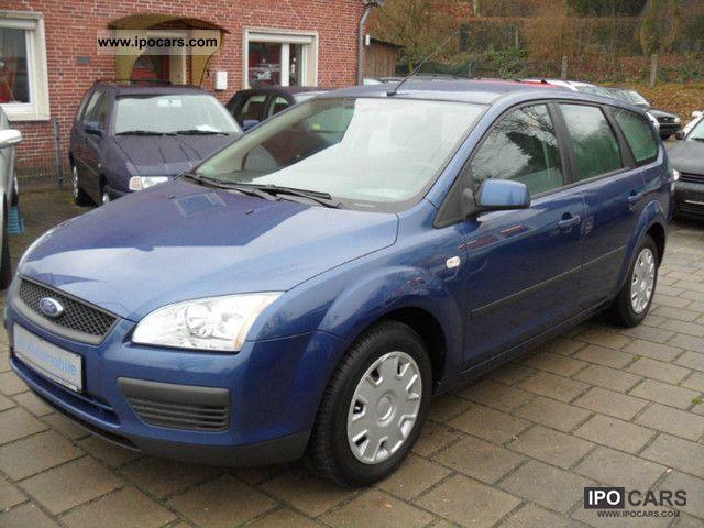 2006 Ford  Focus 1.6 TDCi Fun * X * Air * 8x 1Hand tires Estate Car Used vehicle photo