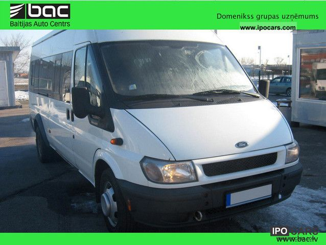 2005 Ford  Transit 2.4 TD Van / Minibus Used vehicle photo