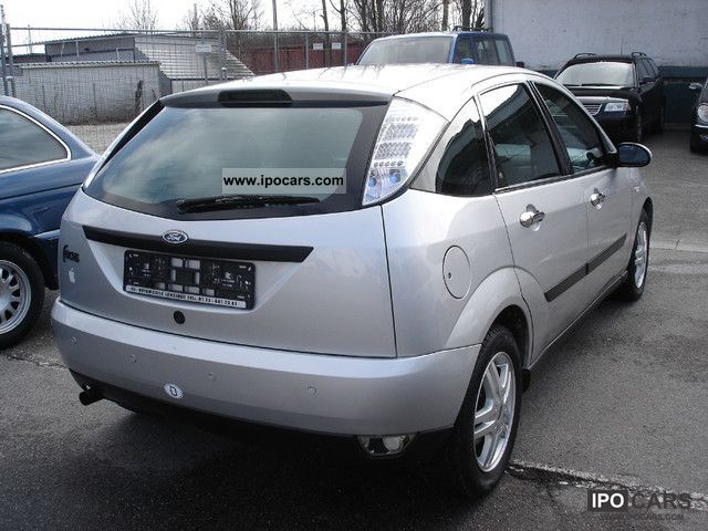 2001 ford focus 1 8 euro 4 air car photo and specs. Black Bedroom Furniture Sets. Home Design Ideas