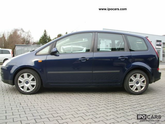2004 ford focus c max 2 0 tdci trend car photo and specs. Black Bedroom Furniture Sets. Home Design Ideas