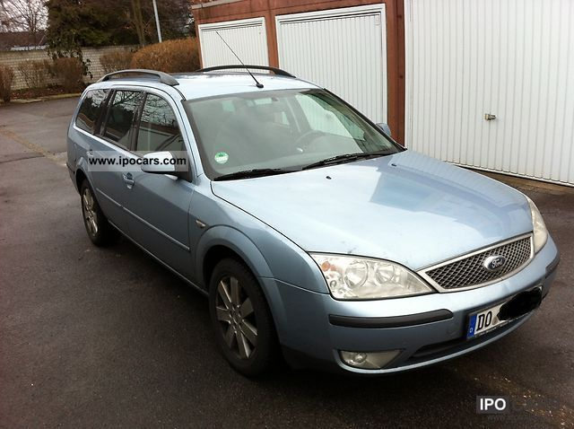 2003 Ford  Mondeo 2.0 TDCi Tournament Viva Vision Command Estate Car Used vehicle photo