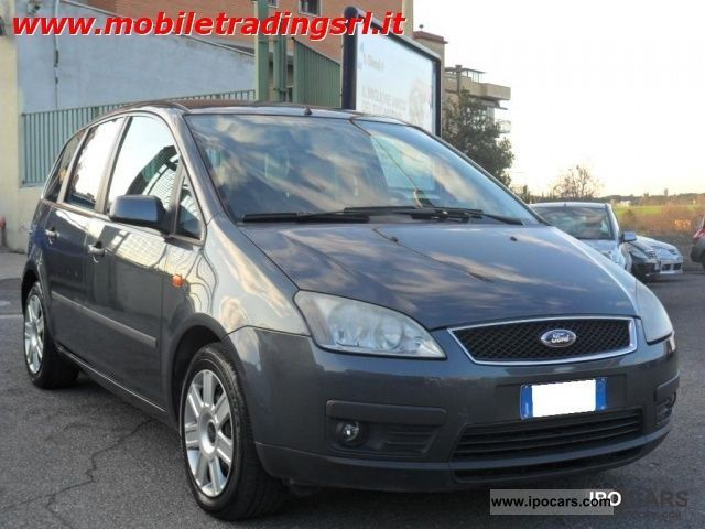 2004 ford focus c max 1 6 tdci 110cv car photo and specs. Black Bedroom Furniture Sets. Home Design Ideas