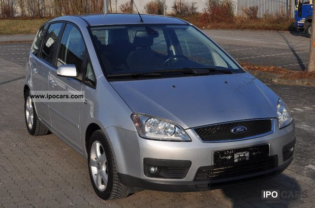 2004 ford focus c max 1 8 ghia car photo and specs. Black Bedroom Furniture Sets. Home Design Ideas