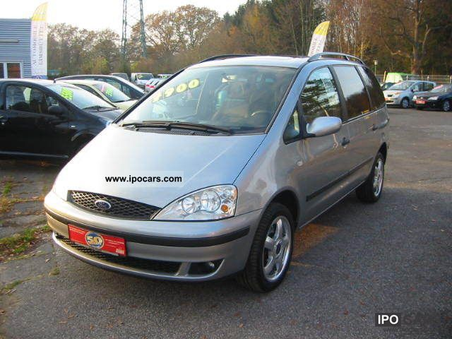 2002 Ford  New Trend Galaxy 16V Tüv! Van / Minibus Used vehicle photo