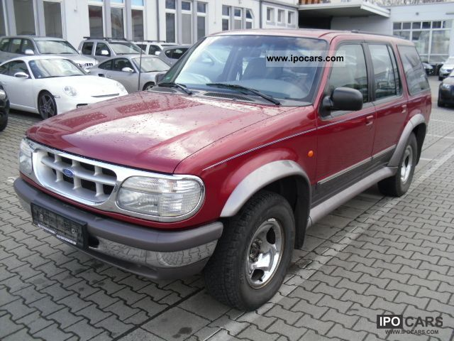 1997 Ford  High Class Explorer LEATHER AIR roof box AHK Off-road Vehicle/Pickup Truck Used vehicle photo