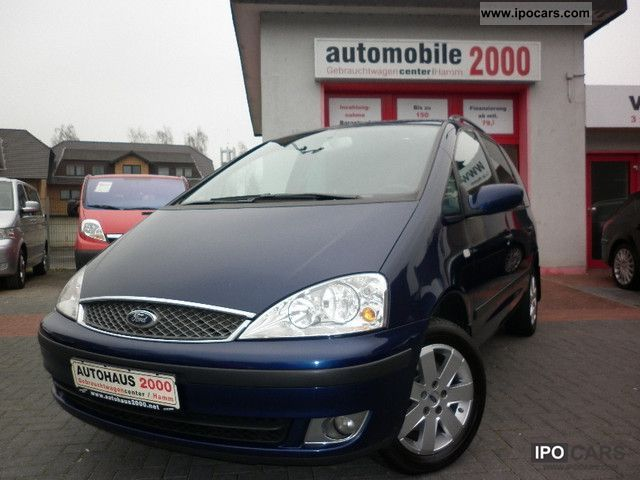 2006 Ford  Galaxy TDI trend X (Navi-Heated-1-hand) Van / Minibus Used vehicle photo