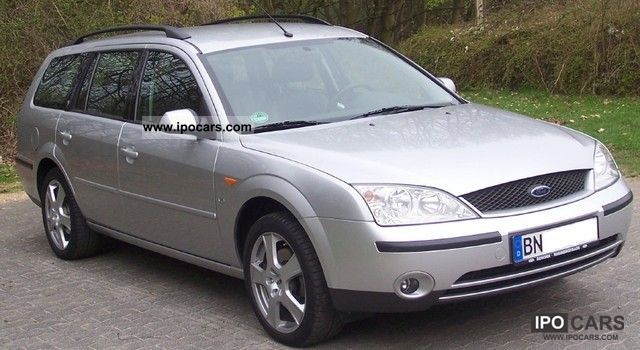 2003 Ford  Mondeo 2.5 V6 Ghia tournament Estate Car Used vehicle photo