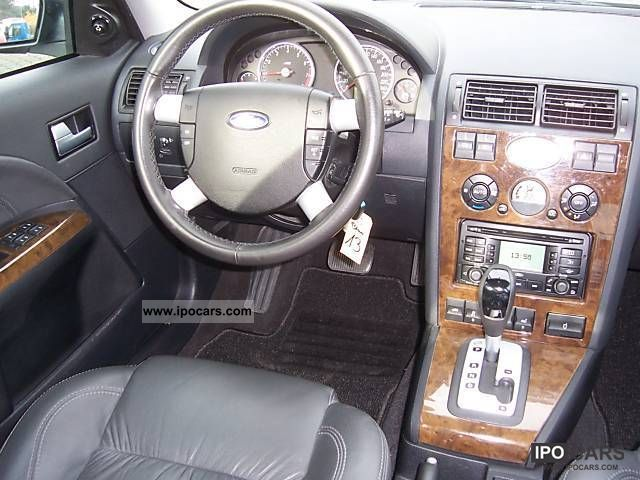 2003 Ford Mondeo 2 5 V6 Ghia Tournament Car Photo And Specs