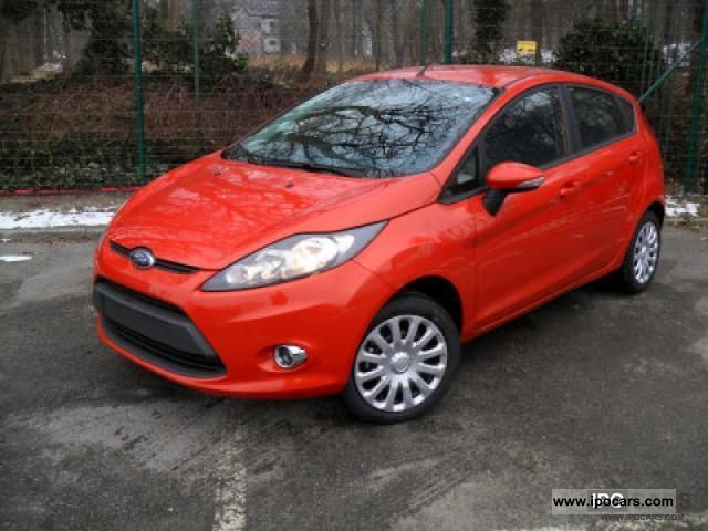 2011 Ford  Fiesta 1.25 / 1.25 44kW 60hp Celebration Small Car New vehicle photo