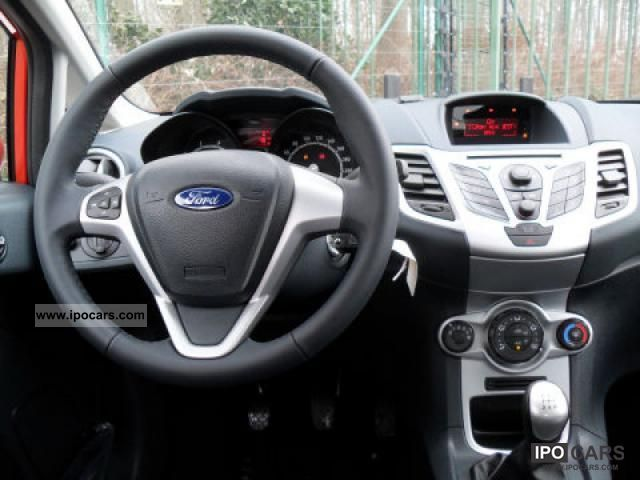 2011 Ford Fiesta 1 25 1 25 44kw 60hp Celebration Car