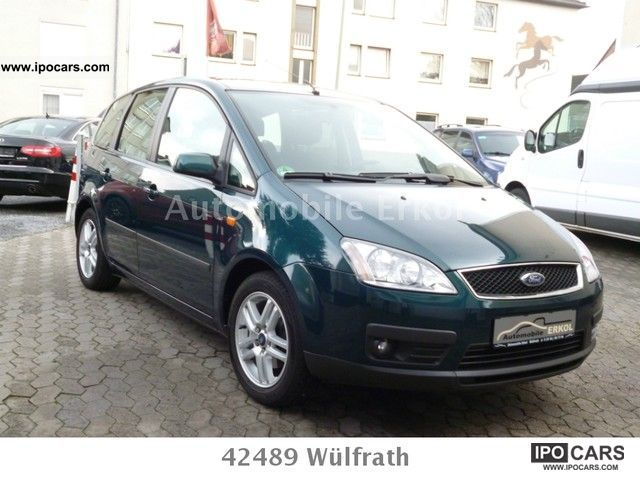 2005 ford focus c max 1 6 ti vct futura car photo and specs. Black Bedroom Furniture Sets. Home Design Ideas