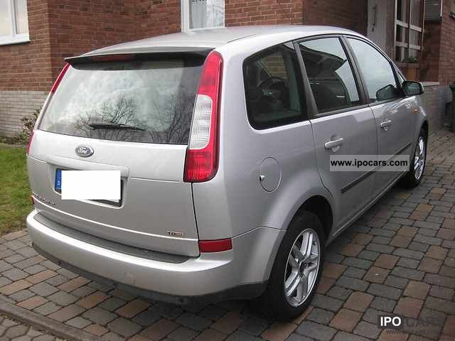 2005 ford focus c max 2 0 tdci plus car photo and specs. Black Bedroom Furniture Sets. Home Design Ideas