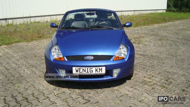 2004 Ford  Streetka 1.6 Gepfl.Fahrzeug aus1Hd.Winterräder! Cabrio / roadster Used vehicle photo