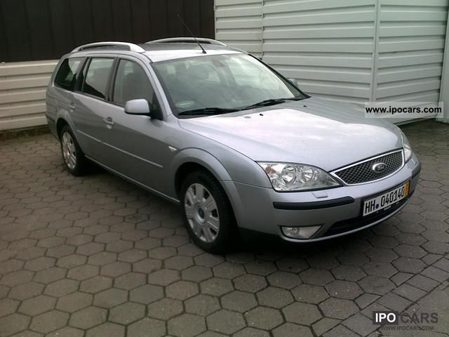 2004 ford mondeo 2 0 turnier viva x car photo and specs. Black Bedroom Furniture Sets. Home Design Ideas