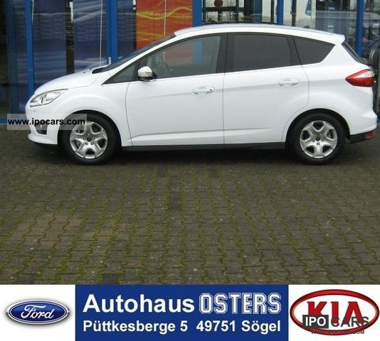2012 ford c max 1 6 tdci trend start stop system tz car photo and specs. Black Bedroom Furniture Sets. Home Design Ideas