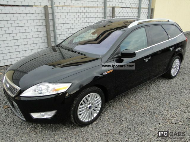2009 Ford  Mondeo 2.0 TDCi Ghia X hitch, Xenon, NAVI Estate Car Used vehicle photo