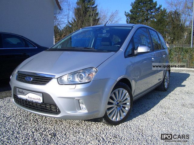 2008 ford focus c max 1 6tdci titanium bi xenon 17 car photo and specs. Black Bedroom Furniture Sets. Home Design Ideas