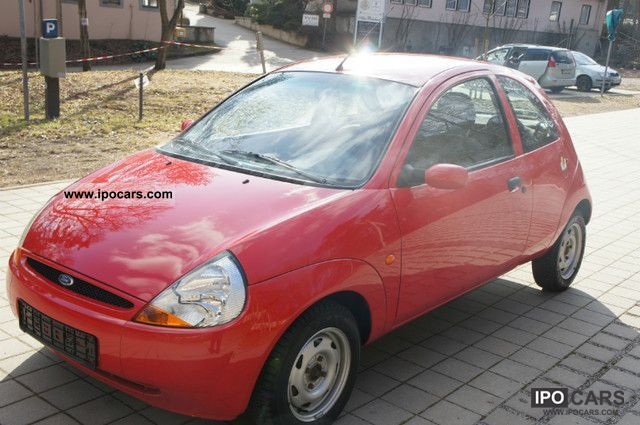2002 Ford  Ka * air * well maintained * 4 * € * Green Brand Small Car Used vehicle photo