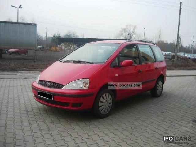 2002 Ford  Galaxy 1.9 TDI AIR 7 osob Other Used vehicle photo