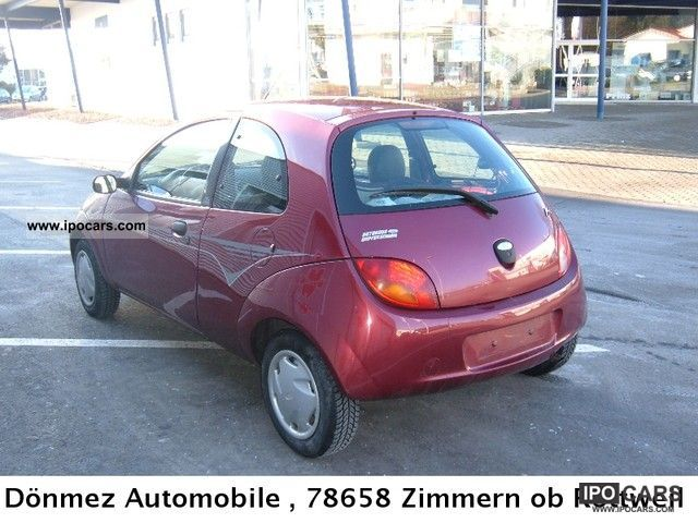 2001 ford ka air power car photo and specs. Black Bedroom Furniture Sets. Home Design Ideas