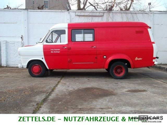 Ford  Transit 1.7L TAUNUS 1300 F, vintage, new TUV- 1972 Vintage, Classic and Old Cars photo