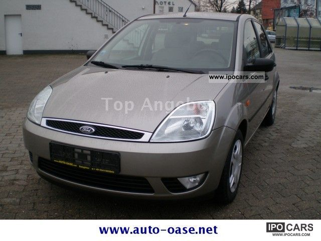 2003 Ford  Fiesta 1.4 Ghia air-€ 4 price Tüv New Small Car Used vehicle photo