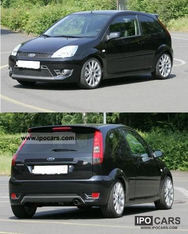 2005 ford fiesta 2 0 st car photo and specs. Black Bedroom Furniture Sets. Home Design Ideas