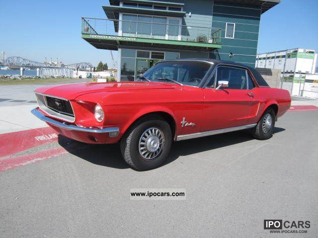 1968 Ford  Mustang Sports car/Coupe Classic Vehicle photo