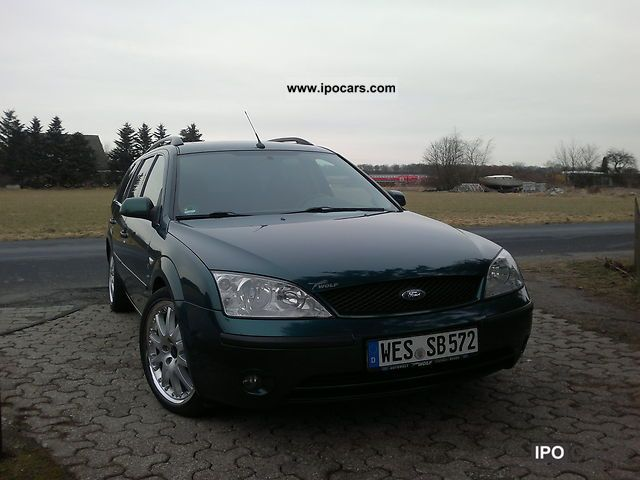 Ford  Mondeo 2.5 V6 tournament trend 2001 Liquefied Petroleum Gas Cars (LPG, GPL, propane) photo