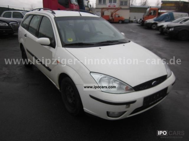2002 Ford  Tournament Focus TDCi climate Estate Car Used vehicle photo