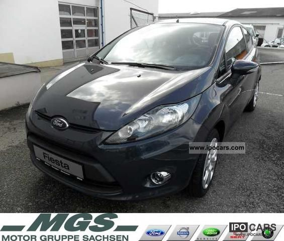 2011 Ford  Fiesta 3-door 'Champion Edition' Park Pilot Limousine New vehicle photo