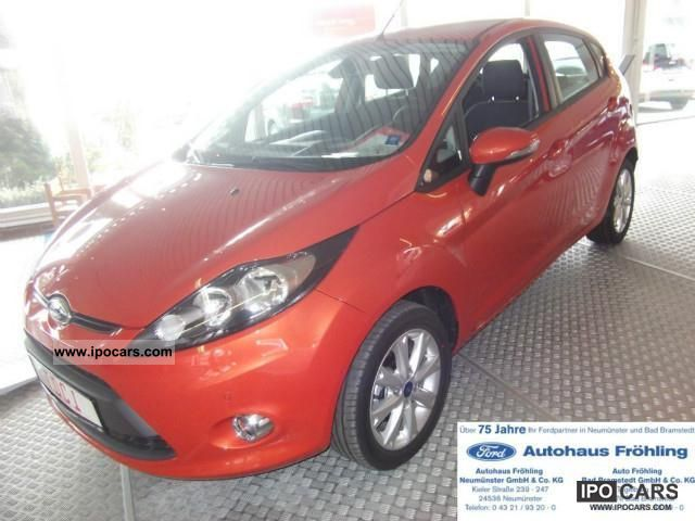 2011 Ford  Fiesta 1.4 TDCi Trend 5TG + company car + w + heiz.WSS Limousine Employee's Car photo