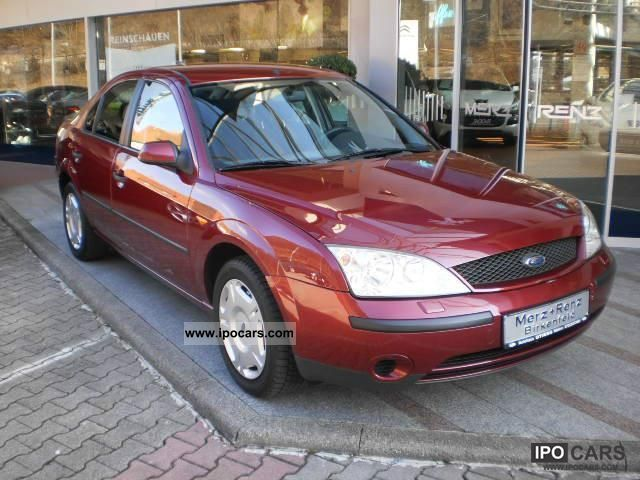 2001 ford mondeo 1 8 ambiente car photo and specs. Black Bedroom Furniture Sets. Home Design Ideas