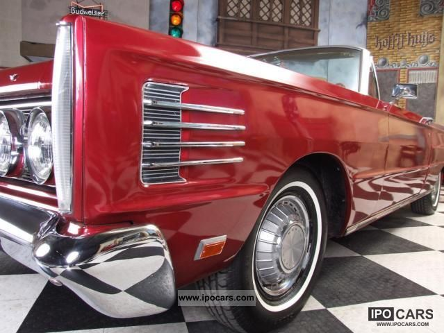 1965 Ford  Mercury Monterey Convertible Cabrio / roadster Classic Vehicle photo