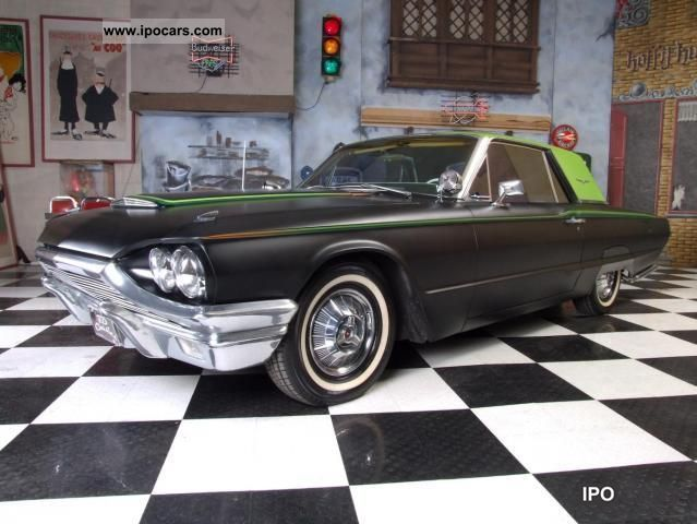 1964 Ford  Thunderbird Custom Street Rod Sports car/Coupe Classic Vehicle photo