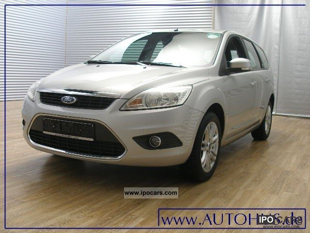 2008 Ford  Focus 1.6 TDCI GHIA NAVI Sitzhzg AHK Estate Car Used vehicle photo