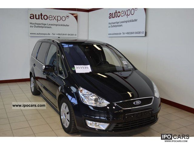 2009 Ford  Galaxy 2.2 TDCi DPF Titanium, GPS, trailer hitch, multimedia Estate Car Used vehicle photo