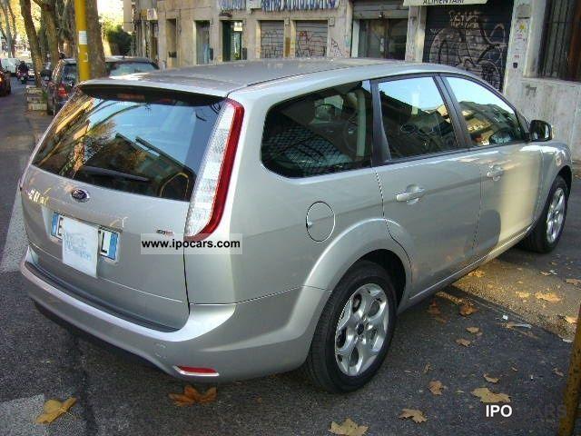2010 ford focus 1 6 tdci 110cv ikon sw euro5 vettura azi car photo and specs. Black Bedroom Furniture Sets. Home Design Ideas