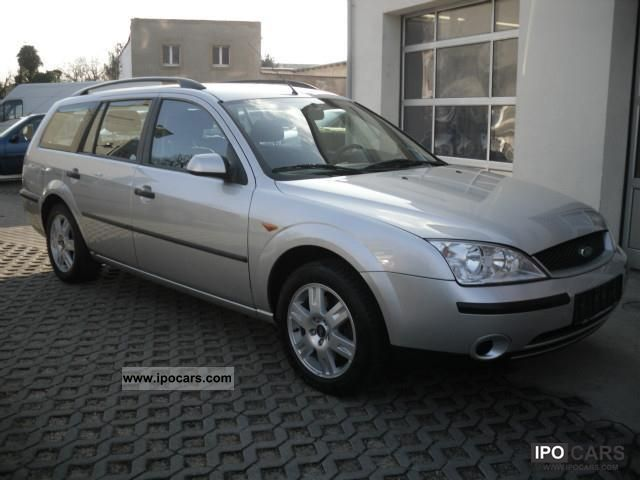 2001 ford mondeo 1 8 tournament car photo and specs. Black Bedroom Furniture Sets. Home Design Ideas