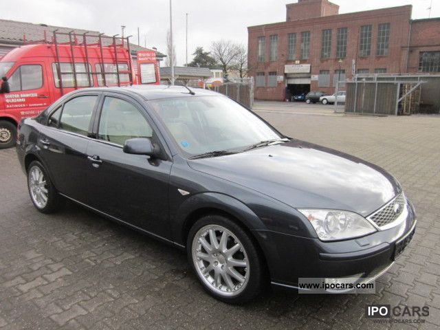 2007 ford mondeo 2 0 tdci ghia car photo and specs. Black Bedroom Furniture Sets. Home Design Ideas