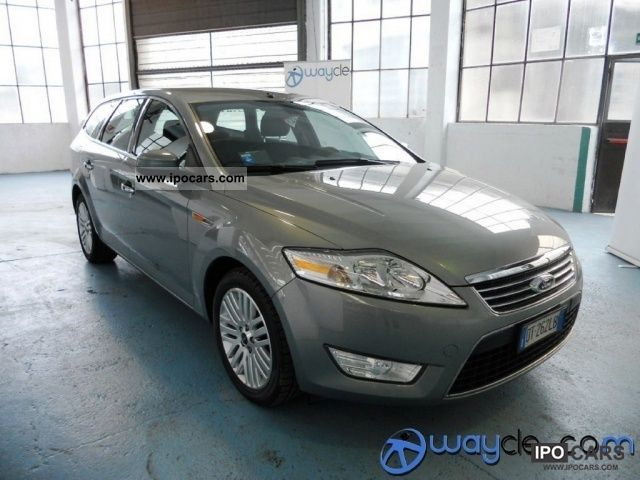 2008 ford mondeo 2 0 ghia dpf tdci 140 sw car photo and specs. Black Bedroom Furniture Sets. Home Design Ideas