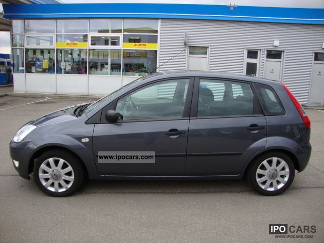 2005 ford fiesta 16v air futura euro 4 alu 2 hand car photo and specs. Black Bedroom Furniture Sets. Home Design Ideas