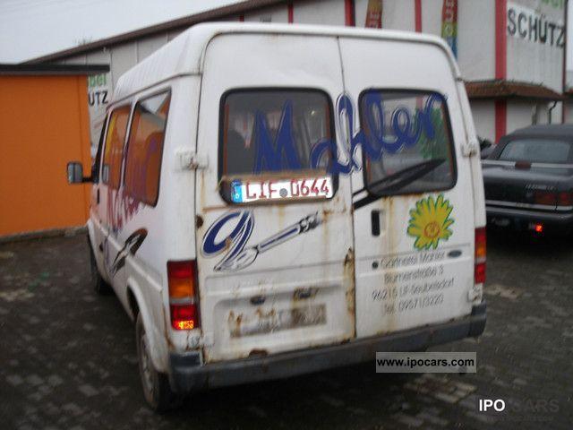 1993 Ford Second transit FENSTERBUS hand, 106500 km Van / Minibus Used