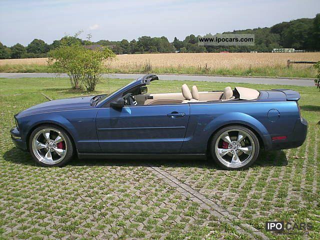 ford mustang convertible premium bullitt style